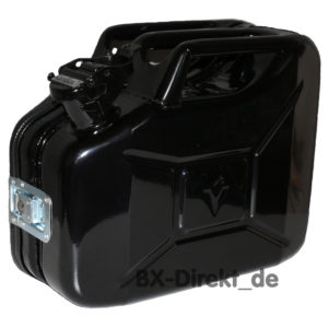do it yourself DIY Kanister in Schwarz