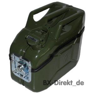 Vesperbox und Brotdose aus einem Dieselkanister