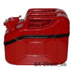rote Toolbox aus einem Benzinkanister