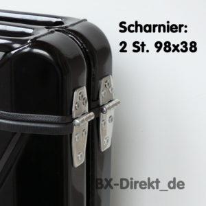 Scharnier: 2 St. 98x38