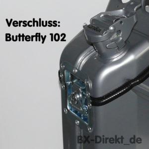 Verschluss: Butterfly 102 mm