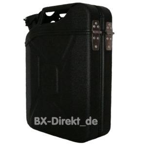Transportbox schwarz matt