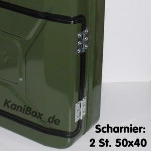Scharnier: 2 St. 50x40