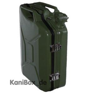20 Liter Kanibox Case in oliv grün