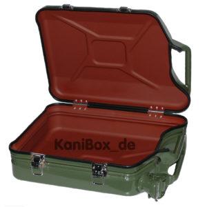 KaniBox Case Jerrycan Koffer aus Benzinkanister