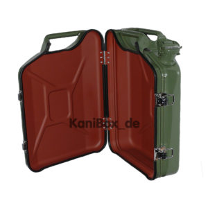 Jerrycan case green suitcase bag