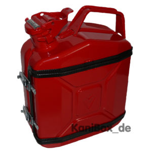 rote Jerrycan red DIY 5 Liter Benzinkanister