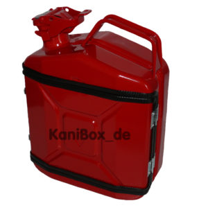 Jerrycan Mini Whiskey Bar rot red