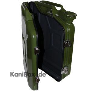 grüner Metallkoffer KaniBox