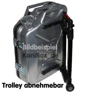 Reisekoffer Benzinkanister Trolley Koffer