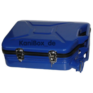 Kanister Koffer die blaue KaniBox