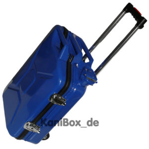 Trolley Ersatzkanister Case in blau