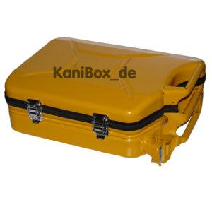 Designer Reisekoffer Ersatzkanister Design gelb