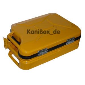 KaniBox Case gelb Koffer