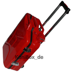 red Trolley Case Jerrycan