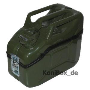 Brotdose und Vesperbox aus einem Ersatzkanister