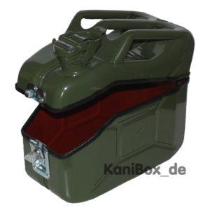 grüne Lunchbox für die kultige Brotzeit