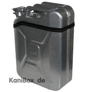 20 Liter KaniBox in Silber farbig