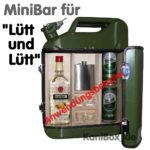 Benzinkanister MiniBar Lütt und Lütt