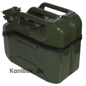 oliv grüne KaniBox mit abnehmbarem Deckel