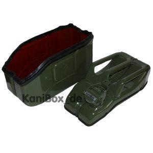 grüne Outdoor Kiste für Geländewagen