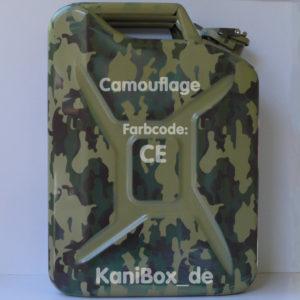 CE Camouflage Flecktarn KaniBox