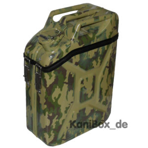 Camouflage Transport Kanister Felcktarn