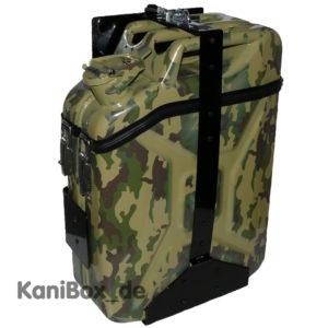 Jimny Ersatzkanister Camouflage Staubox