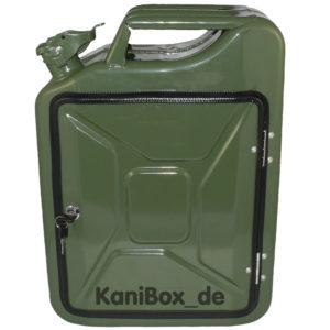 20 Liter KaniBox in oliv grün