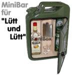Lütt und lütt Benzinkanister MiniBar