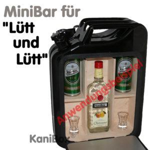 Jerrycan Mini Bar Lütt und Lütt