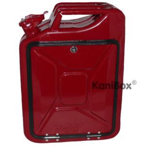 rote Tankkanister Getränkebar