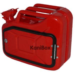 rote 10 Liter KaniBox zum selber ausbauen