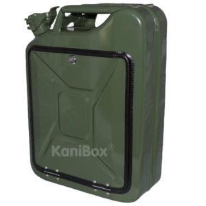 Armeekanister oliv-grün MiniBar DIY