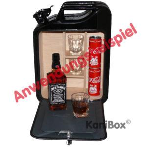 Whiskey-Bar Kanister Bar mit Ablage