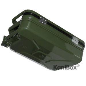 Tankkanister Koffer in grün