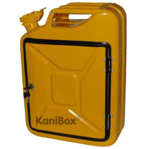 gelbe KaniBox FrontDoor 20 Liter