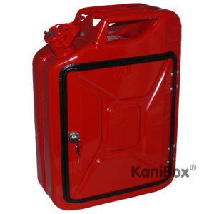 Feuerwehr Kanister-Bar in Rot