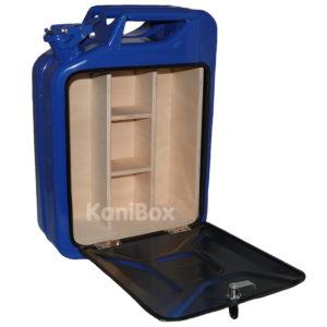 blaue KaniBox MiniBar Geschenk