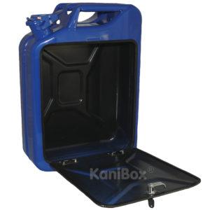 DIY Männergeschenk blauer Benzinkanister