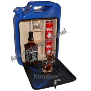 Whiskey Cola MiniBar Benzinkanister Bar