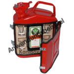 rote Benzinkanister Likör-Bar