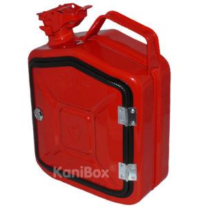 rote 5 Liter KaniBox FrontDoor