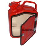 abschliessbare 5 Liter MiniBar in rot
