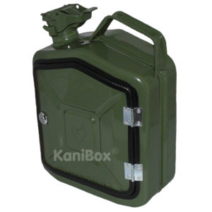 KaniBox 5 Liter FrontDoor oliv grün
