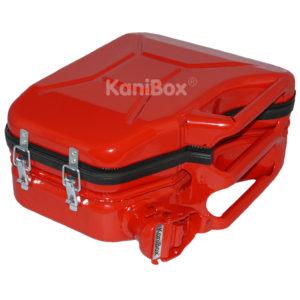 Retro Topcase Kanister in Rot