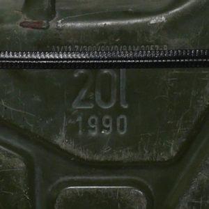 Armeekanister 1990