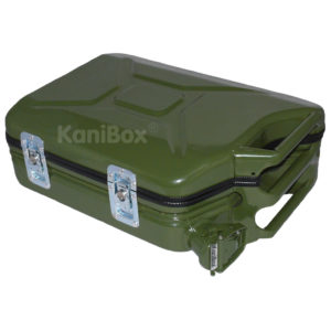 KaniBox Vintage Case oliv-grün