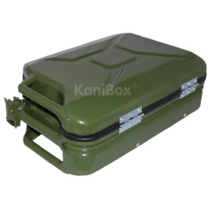 KaniBox Retro Case oliv-grün