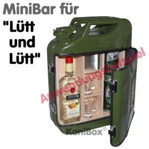 Benzinkanister MiniBar für Lütt und Lütt